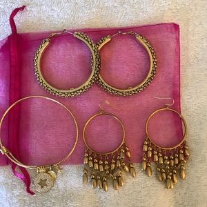 Ralph Lauren Gold Earrings and More